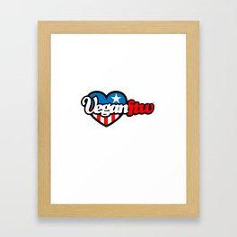 VeganFTW Logo - Independence Day 2013 Edition Framed Art Print