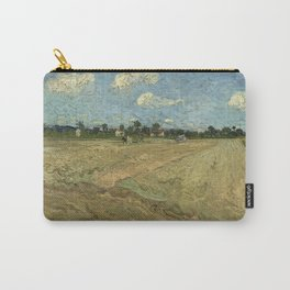 Vincent van Gogh - Ploughed Fields, or The Furrows (1888) Carry-All Pouch
