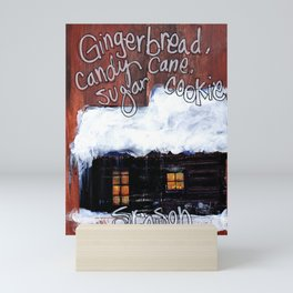 Gingerbread Mini Art Print