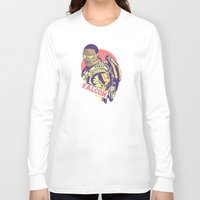 falcon Long Sleeve T-shirts featuring Falcon by Shop 5