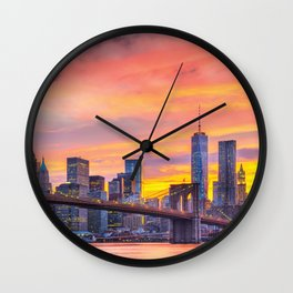 Candyland, New York Wall Clock