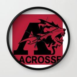 Albright Lacrosse Wall Clock