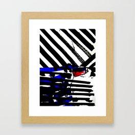 Kollage n°162 Framed Art Print