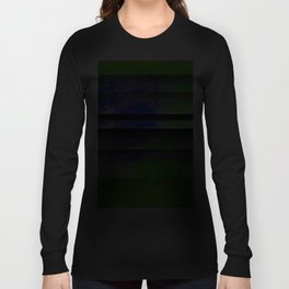 Green Color Blinds Long Sleeve T-shirt