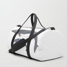 Fin whale Duffle Bag