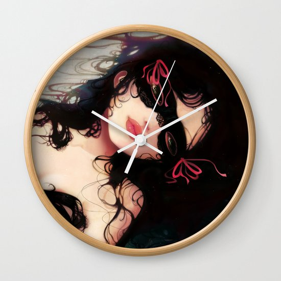 Le masque Wall Clock
