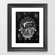 Hammer N Nails Framed Art Print