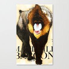 Mandrill Canvas Print