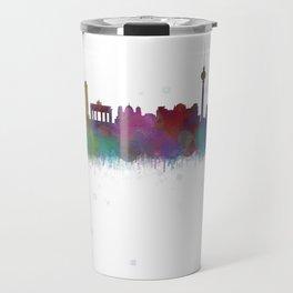 Berlin City Skyline HQ4 Travel Mug