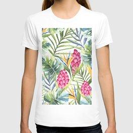 Tropical Leaves 9 T-shirt