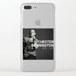 chester bennington Clear iPhone Case