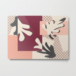 Finding Matisse pt.2 #society6 #abstract #art Metal Print