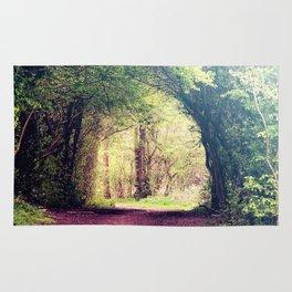 Tree Tunnel Rug
