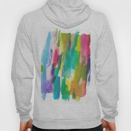 180812 Abstract Watercolour Expressionism 5  Colorful Abstract   Modern Watercolor Art Hoody