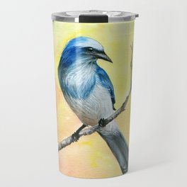 Scrub Jay Travel Mug