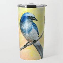 Scrub Jay Travel Mug