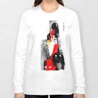 senna Long Sleeve T-shirts featuring AYRTON SENNA MP4-4 by Michele Leonello