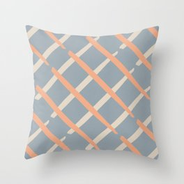 Classic line pattern #444 Throw Pillow