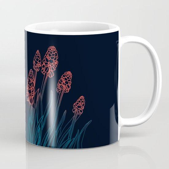 Hyacinths in the night Mug