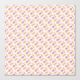 0307 Fluffy pattern ... Canvas Print