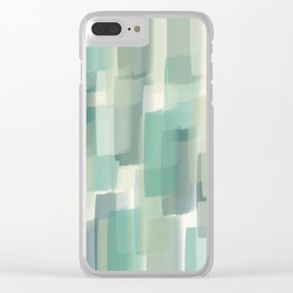Abstract pattern 130 Clear iPhone Case