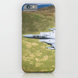 Low Flying F-15E Strike Eagle iPhone Case