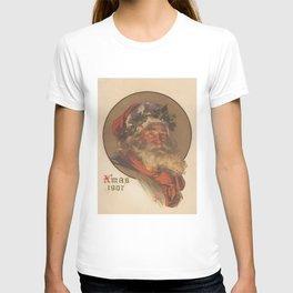 Vintage Santa Claus Illustration (1907) T-shirt