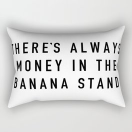 Banana Stand Rectangular Pillow