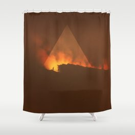 Etna.1983 Shower Curtain