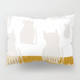 Coit Cat Pattern 4 Pillow Sham