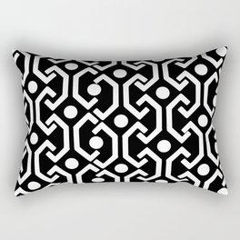 Ethnic Pattern (black) Rectangular Pillow
