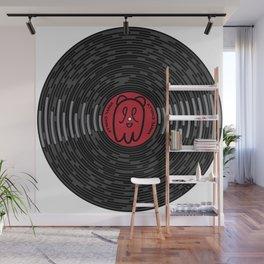 Vinyl Record Wall Mural