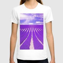 LAVENDAR FIELD T-shirt