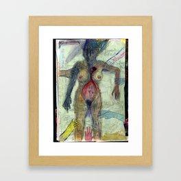 You Slip Through My Fingers Framed Art Print