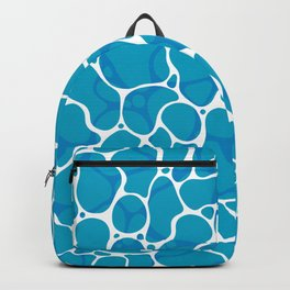 The Great Sea: Graphic Ocean Water Pattern Backpack