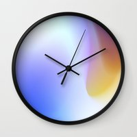 mortal instruments Wall Clocks featuring Trans-mortal Flare by tscreative