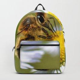 Bee on flower 83 Backpack