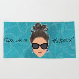 Beach Babe Beach Towel