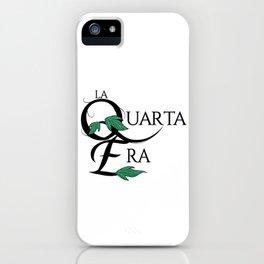 LaQuartaEra_White iPhone Case