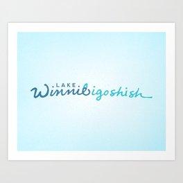 Lake Winnibigoshish Art Print