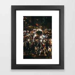 Juárez Avenue Framed Art Print