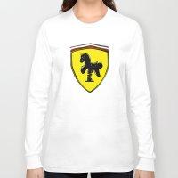 ferrari Long Sleeve T-shirts featuring Ferrari cute by le.duc