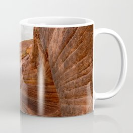 After The Rain - 6, Valley_of_Fire Canyon, Nevada Coffee Mug