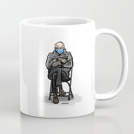 Waiting for Coffee Bernie Coffee Mug