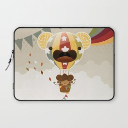 Chestnut Girl Balloon!!! Laptop Sleeve