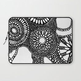 graphic dots pattern Laptop Sleeve
