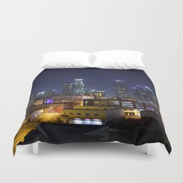 Photography in Downtown. Duvet Cover