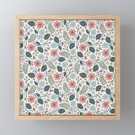 Blush Blooms Framed Mini Art Print
