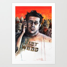 Dawn Of The Ed Art Print