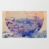 berlin Area & Throw Rugs featuring berlin by Marco Puccini